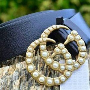 Accessories - DIVA LUXURY PEARL BUCKLE FASHION BELT NEW 40-42